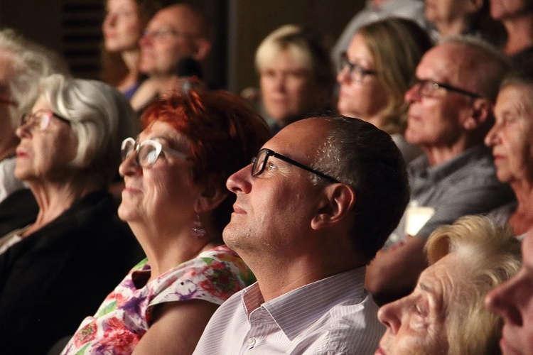 Wśród publiczności był znany i ceniony pisarz, publicysta katolicki Paweł Lisicki. Fot. Katarzyna Matejek (GN)
