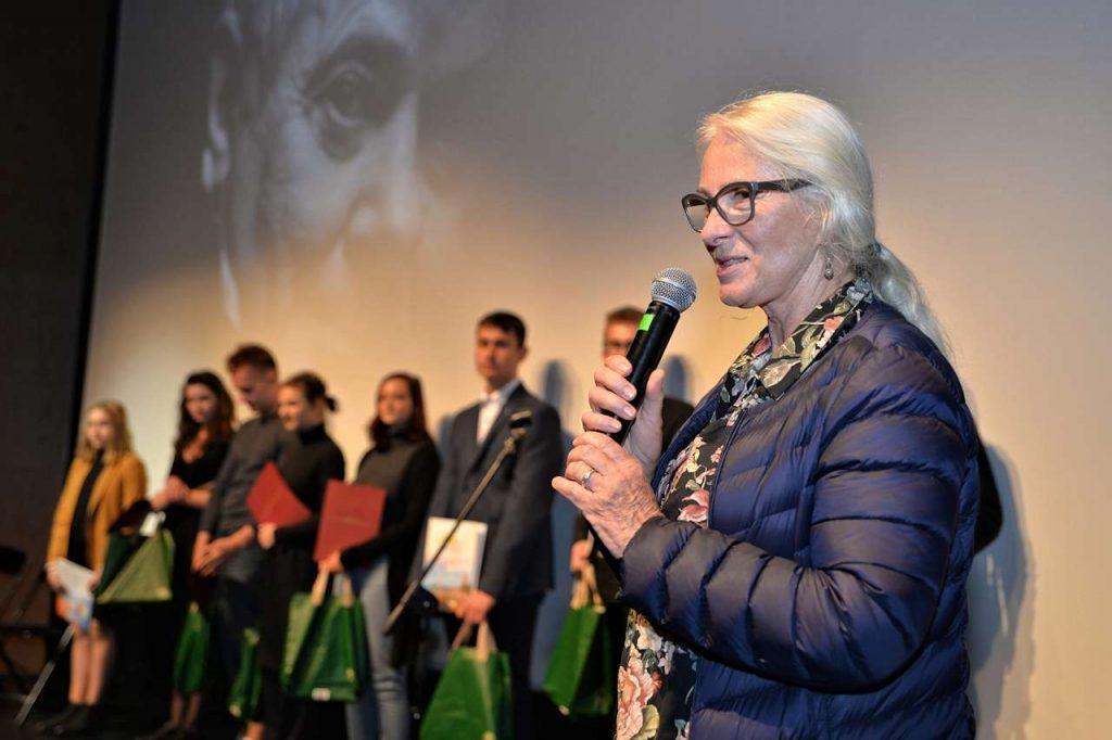 Przewodnicząca Jury Agnieszka Mandat
