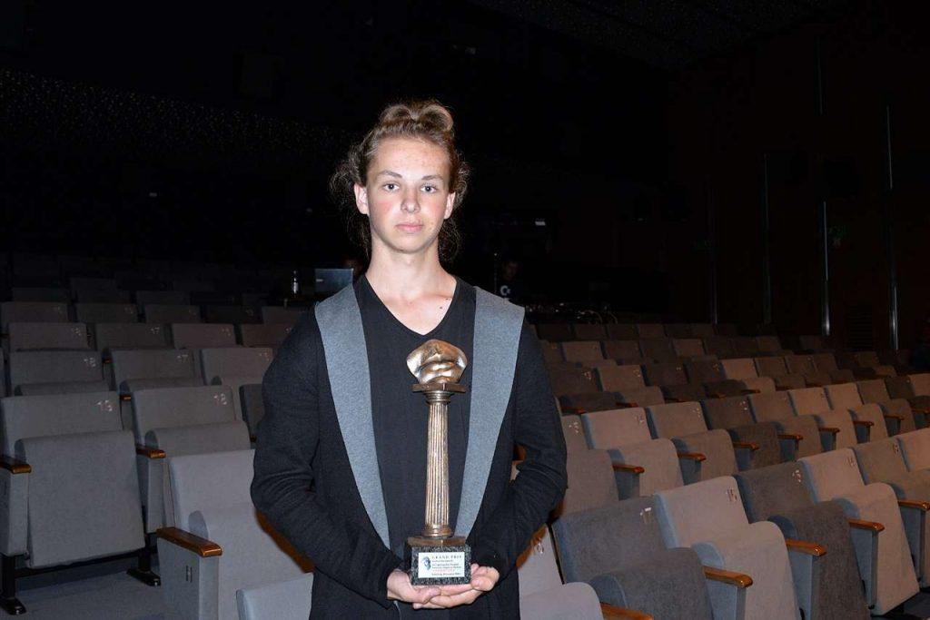 Jakub Harańczyk z Czaplinka, laureat nagrody Grand Prix