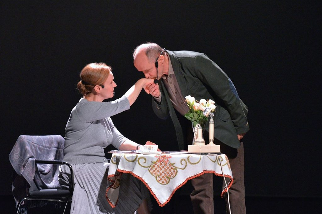 Ewa Domańska i Piotr Bajor